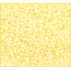 Seedbead 10/0 Pale Yellow Color Lined Terra Colour